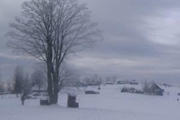 Zima na Orave.