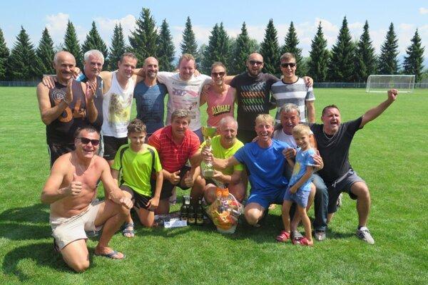 Futbalový turnaj na Bystričke sa vydaril.