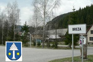 Breza. Názov vraj dostala podľa brezového hája, voľakedy bol na začiatku dediny. Brezy sú v obci dodnes.
