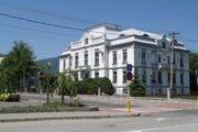 Vrútky, budova mestského úradu.