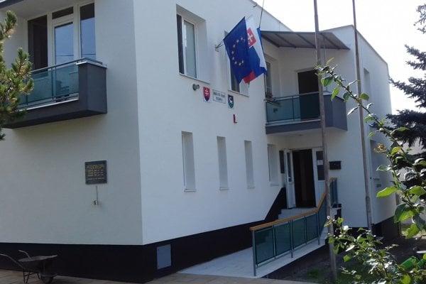 Vynovený obecný úrad v Turovej.