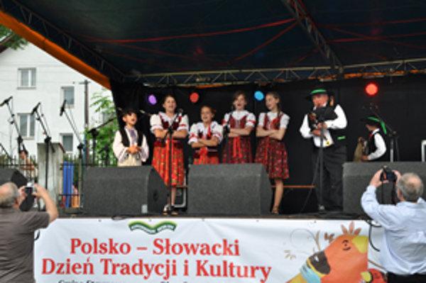 Na dňoch poľsko-slovenskej kultúry nechýbal bohatý kultúrny program.
