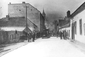 Smrtnú ulicu vyasfaltovali v Martine ako prvú.