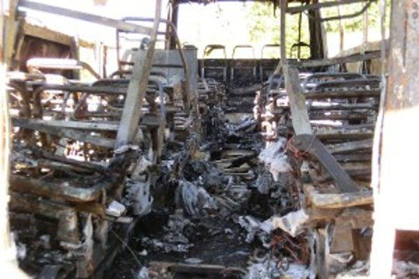 Vyhorený interiér