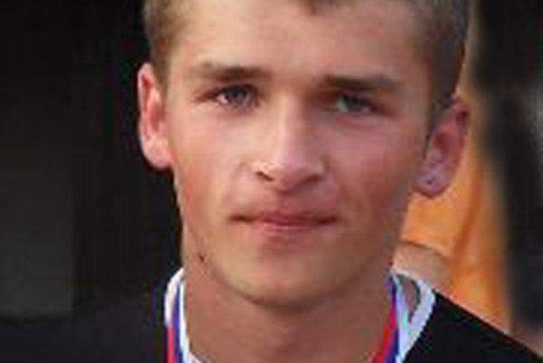 Tomáš Bublák. Najlepší v behu na 60 metrov.