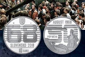 Ladislav Bielik, rodák z Levíc, odfotil muža pred tankom. Jeho fotografia z 21. augusta 1968 sa teraz dostala na výročnú mincu.