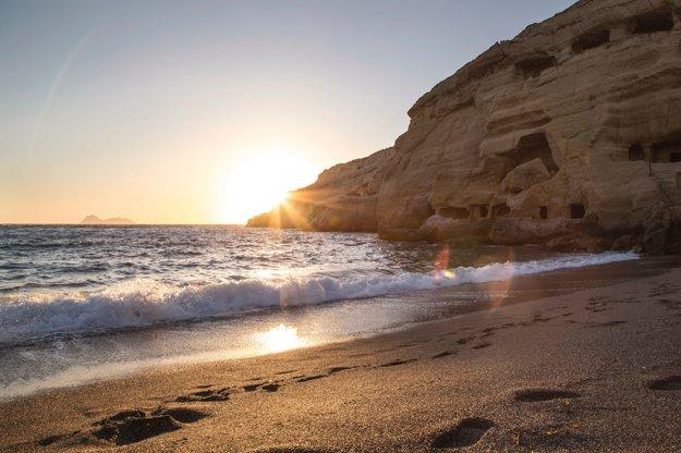Pláž Matala