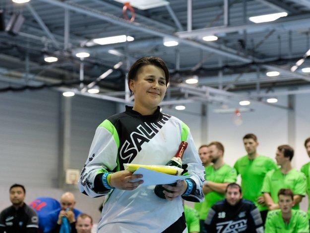 Adriana Michalisková získala vNemecku cenu pre najlepšiu brankárku turnaja.