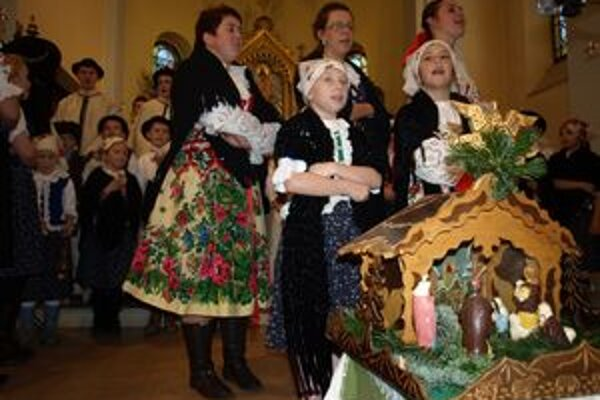 Zábiedovským kostolom sa dnes niesli zvuky vianočných kolied.