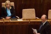 Iveta Radičová sa dostala k moci počas ekonomickej a menovej krízy.