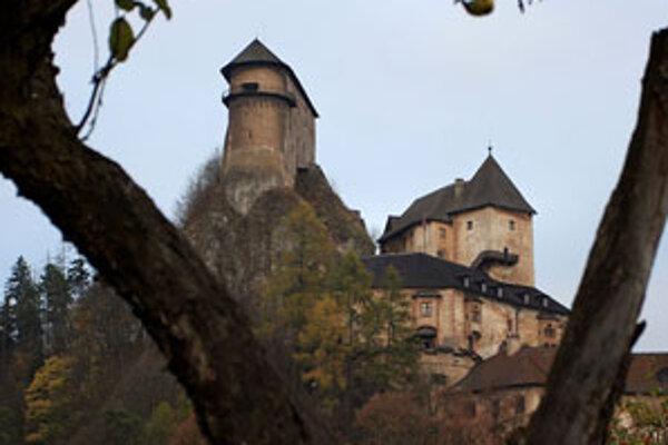 Oravský hrad - najnavštevovanejší hrad na Slovensku.