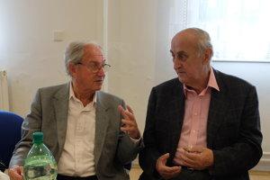 S kameramanom Ladislavom Šidelským na seniorských stretnutiach televíznych pracovníkov vždy majú na čo spomínať.