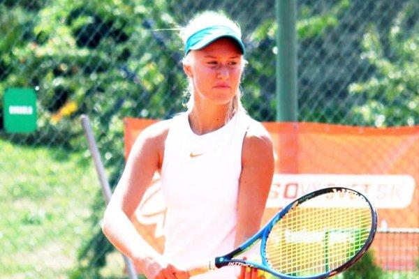 Pätnásťročná tenistka Bianca Behúlová.