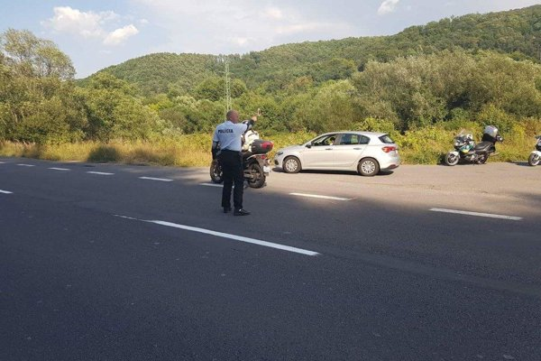Policajti si posvietili na vodičov v Banskobystrickom kraji.