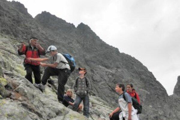 Zubereckí školáci prežili leto v slovensko-poľských skalách.