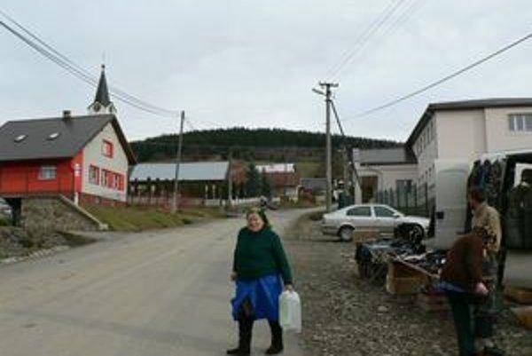 Beňadovo. Posledná obec na Orave, ktorej chýbal verejný vodovod.