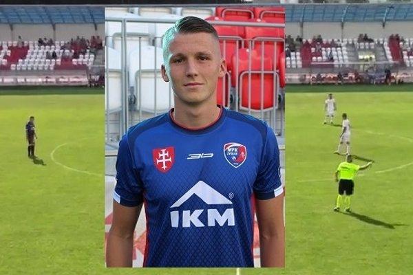 Vladislav Slovák rozhodol o prvej domácej výhre MFK v tomto kalendárnom roku.
