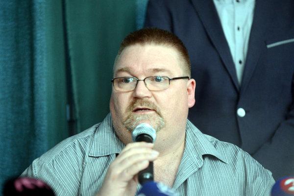 Predseda Komory neziskových organizácií Marcel Zajac.