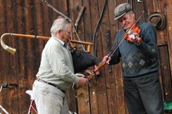 Jozef Luscoň (vpravo) a Ludvík Borovka dnes.