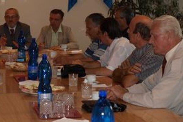 Neformálne stretnutie Obce Oravcov z Bratislavy v Trstenej.