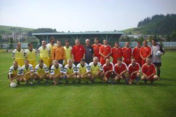 Futbalové stretnutie internacionálov malo svoje čaro, ako za starých čias.