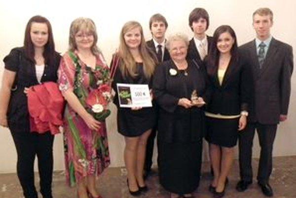 Medzi ocenenými bolo viacero študentov z považskobystrického gymnázia.