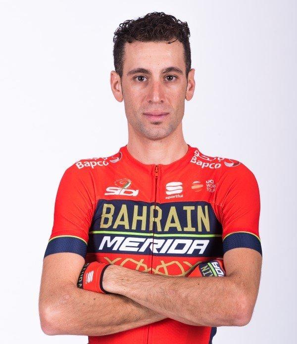 Vincenzo Nibali, cyklista, tím Bahrain-Merida