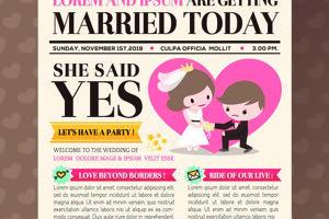 Svadobné noviny.