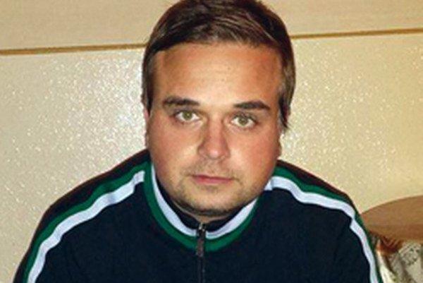 Tréner Michal Caránek.