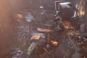 Požiar včelína v Malinovej.