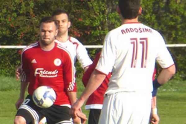 Futbalisti Radošiny chcú skončiť v hornej časti tabuľky.