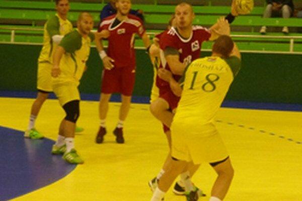 Topoľčany doma vyhrali o šesť gólov, keď v druhom polčase inkasovali iba dvanásť gólov.