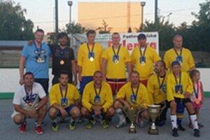 Benco Team sa stal víťazom turnaja v Bošanoch.