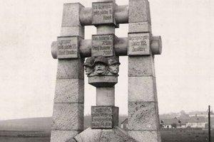 Pamätník legionárom sa zachoval iba na fotografiách. Obec ho chce dať vybudovať nanovo.