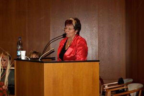 Marta Eckhardtová odprezentovala situáciu v nemocnici mestským poslancom.