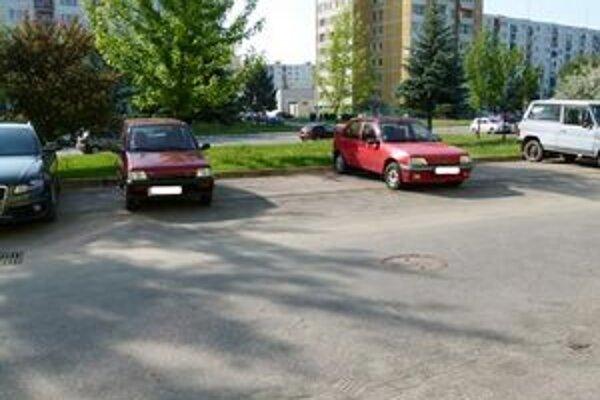 Niektorí vodiči nie sú pri parkovaní príliš ohľaduplní.