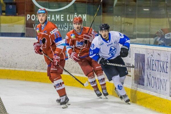 Jaroslav Markovič (v bielom) patrí medzi lídrov martinského tímu.