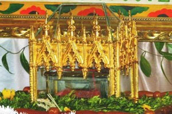 Relikvie putujú po celom Slovensku.