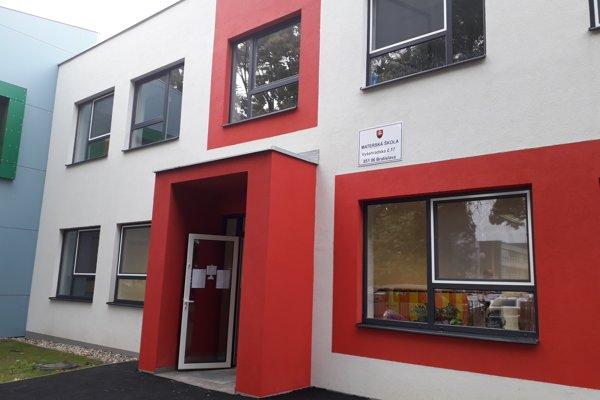 Rekonštrukciu škôlky naplánovali v rámci zvyšovania kapacít petržalských materských škôl.