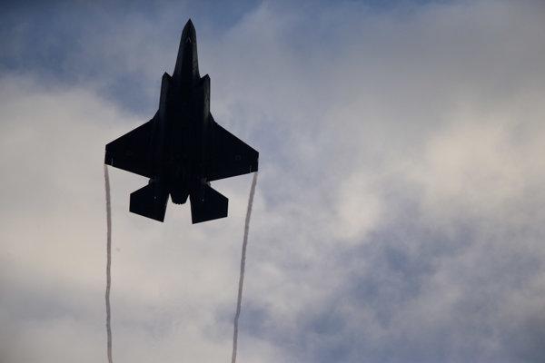 Izraelská stíhačka Lockheed Martin F-35.