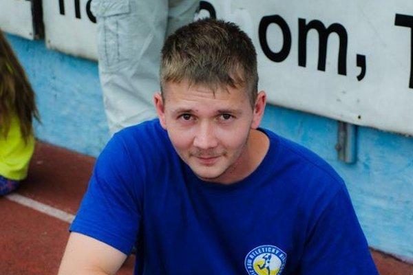 Prezident žiarskeho atletického klubu Adam Pajunk.