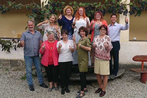 Desiatka finalistov súťaže Učiteľ SLovenska.