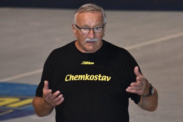 Tréner Iuventy Peter Hatalčík.