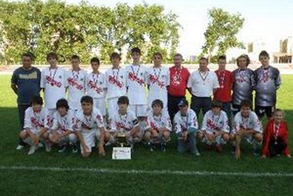 Topoľčany obsadili na turnaji druhé miesto.