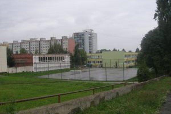 Na ZŠ Komenského sa ešte dkončuje telocvičňa.