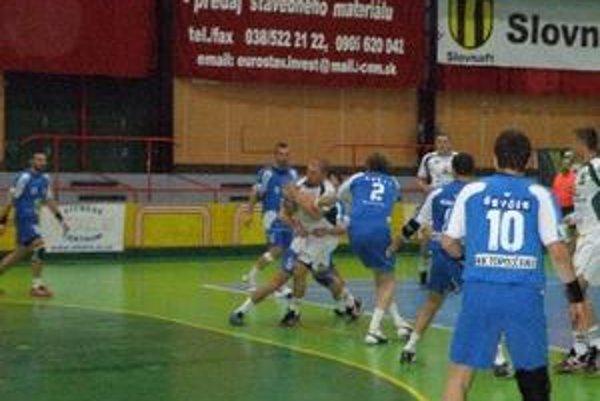 Topoľčianska obrana mala v domácom zápase s Prešovom plné ruky práce.
