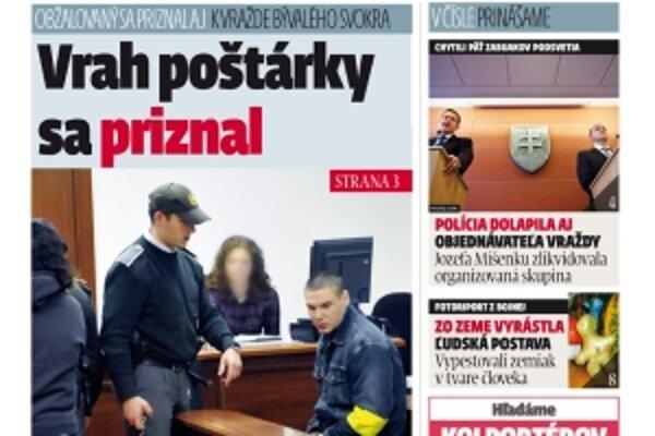 MY Topoľčianske noviny Dnešok dostanete u nás v redakcii iba za 40 centov.
