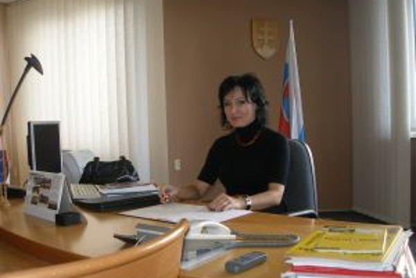 Monika Geletová bola naa čele obvodného úradu už tri roky.