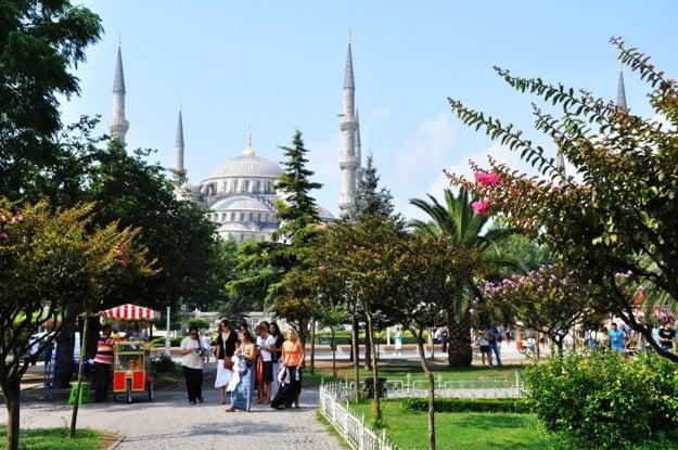 Prechádzka k Modrej mešite