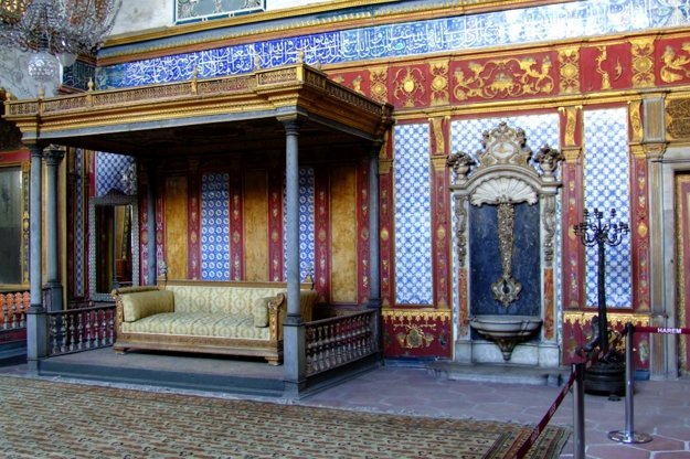 Orientálny palác Topkapi